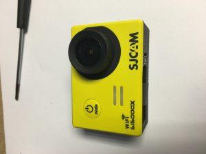 reassembled camera